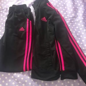Adidas girls sport outfit